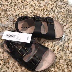 Brown Boys Birkenstocks (toddler 6) *NEVER WORN* NWT